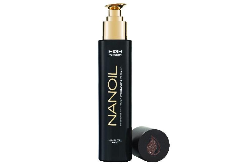 Skuteczny olejek do włosów Nanoil